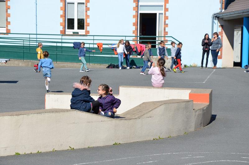 Photo 1 de la cour maternelle